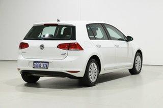 2016 Volkswagen Golf AU MY16 92 TSI White 7 Speed Auto Direct Shift Hatchback