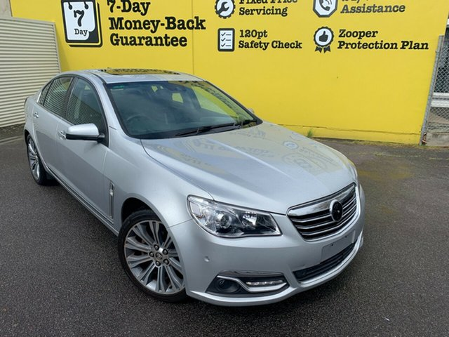 Used Holden Calais VF MY15 V, 2015 Holden Calais VF MY15 V Silver 6 Speed Sports Automatic Sedan