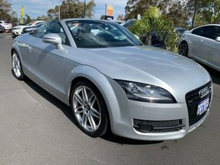 2007 Audi TT 8J S Tronic Quattro Silver 6 Speed Sports Automatic Dual Clutch Roadster