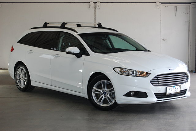 Used Ford Mondeo MD Ambiente, 2016 Ford Mondeo MD Ambiente White 6 Speed Sports Automatic Dual Clutch Wagon