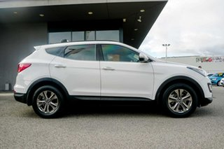 2014 Hyundai Santa Fe DM2 MY15 Active White 6 Speed Sports Automatic Wagon.