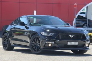 2016 Ford Mustang FM GT Fastback SelectShift Black 6 Speed Sports Automatic Fastback.
