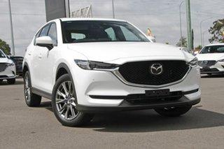 2020 Mazda CX-5 KF4WLA Akera SKYACTIV-Drive i-ACTIV AWD Snowflake White Pearl 6 Speed.