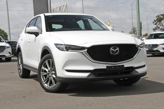 New Mazda CX-5 KF4WLA Akera SKYACTIV-Drive i-ACTIV AWD, 2020 Mazda CX-5 KF4WLA Akera SKYACTIV-Drive i-ACTIV AWD Snowflake White Pearl 6 Speed