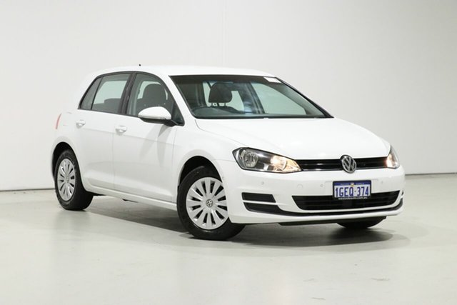 Used Volkswagen Golf AU MY16 92 TSI, 2016 Volkswagen Golf AU MY16 92 TSI White 7 Speed Auto Direct Shift Hatchback