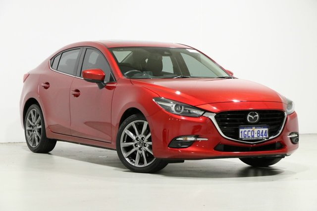 Used Mazda 3 BN MY17 SP25 Astina, 2016 Mazda 3 BN MY17 SP25 Astina Red 6 Speed Automatic Sedan
