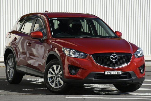 Used Mazda CX-5 KE1031 MY14 Maxx SKYACTIV-Drive AWD, 2014 Mazda CX-5 KE1031 MY14 Maxx SKYACTIV-Drive AWD Red 6 Speed Sports Automatic Wagon