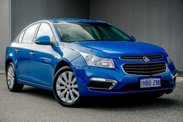 Used Holden Cruze JH Series II MY15 CDX, 2015 Holden Cruze JH Series II MY15 CDX Blue 6 Speed Sports Automatic Sedan