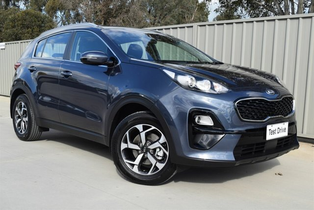 Used Kia Sportage QL MY19 Si 2WD Echuca, 2018 Kia Sportage QL MY19 Si 2WD Blue 6 Speed Sports Automatic Wagon