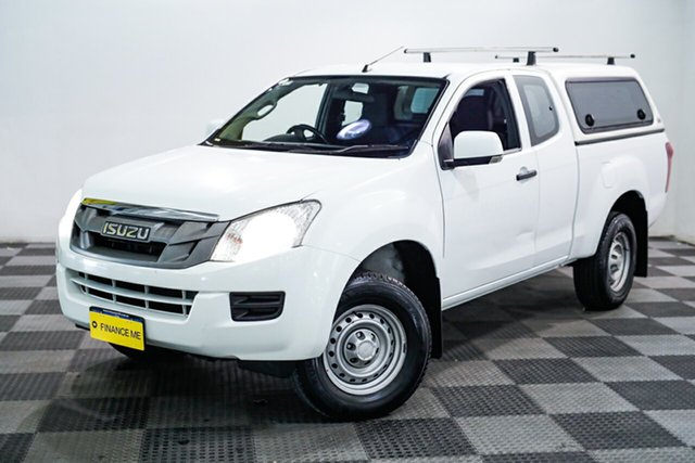 Used Isuzu D-MAX MY15 SX Space Cab 4x2 High Ride, 2016 Isuzu D-MAX MY15 SX Space Cab 4x2 High Ride White 5 Speed Sports Automatic Utility