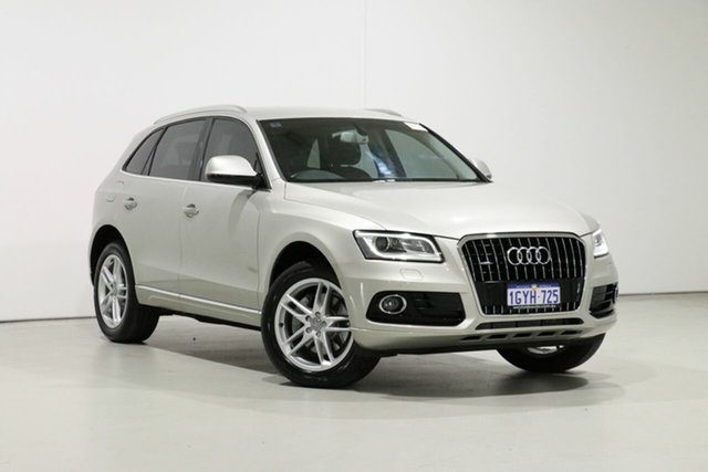 Used Audi Q5 8R MY16 3.0 TDI Quattro Bentley, 2015 Audi Q5 8R MY16 3.0 TDI Quattro Silver 7 Speed Auto Dual Clutch Wagon