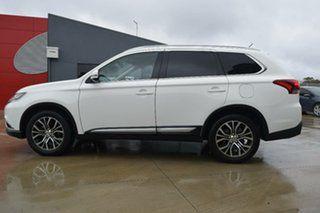 2016 Mitsubishi Outlander ZK MY16 LS 4WD Pearl White 6 Speed Constant Variable Wagon