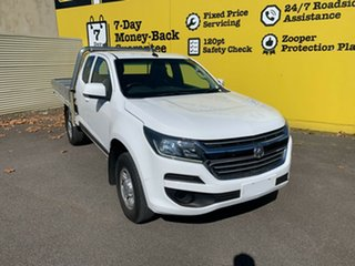 2017 Holden Colorado RG MY18 LS Space Cab White 6 Speed Sports Automatic Cab Chassis.
