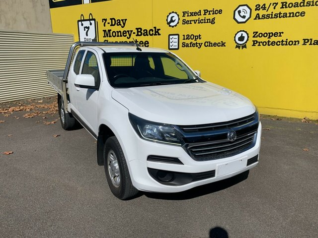 Used Holden Colorado RG MY18 LS Space Cab, 2017 Holden Colorado RG MY18 LS Space Cab White 6 Speed Sports Automatic Cab Chassis
