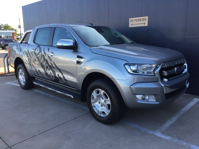 Used Ford Ranger PX MkII XLT Double Cab, 2016 Ford Ranger PX MkII XLT Double Cab Grey 6 Speed Sports Automatic Utility