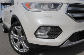 2017 Ford Escape ZG Titanium White Platinum 6 Speed Sports Automatic SUV.