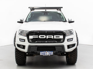 2016 Ford Ranger PX MkII XLT 3.2 (4x4) White 6 Speed Automatic Super Cab Utility.