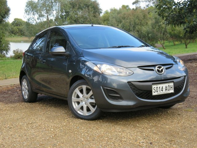 Used Mazda 2 DE10Y2 MY12 Maxx, 2011 Mazda 2 DE10Y2 MY12 Maxx Grey 4 Speed Automatic Hatchback