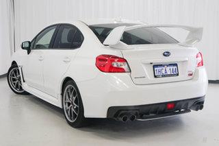 2014 Subaru WRX V1 MY15 STI AWD Premium White 6 Speed Manual Sedan.