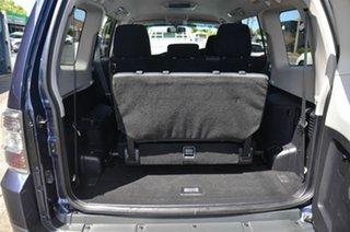 2007 Mitsubishi Pajero NS VR-X LWB (4x4) Blue 5 Speed Manual Wagon