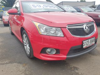 2013 Holden Cruze JH Series II MY13 SRi-V Red 6 Speed Sports Automatic Hatchback.