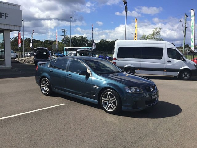Used Holden Commodore VE II SV6, 2011 Holden Commodore VE II SV6 Blue 6 Speed Manual Sedan