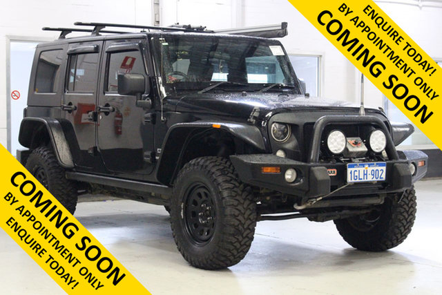 Used Jeep Wrangler Unlimited JK MY09 Sport (4x4), 2010 Jeep Wrangler Unlimited JK MY09 Sport (4x4) Black 4 Speed Automatic Softtop
