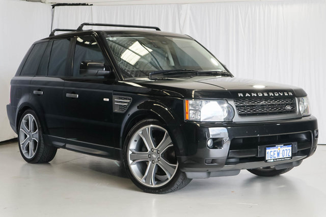 Used Land Rover Range Rover Sport L320 10MY TDV6, 2010 Land Rover Range Rover Sport L320 10MY TDV6 Black 6 Speed Sports Automatic Wagon