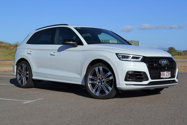 Used Audi SQ5 FY MY19 Tiptronic Quattro Mundingburra, 2019 Audi SQ5 FY MY19 Tiptronic Quattro White 8 Speed Sports Automatic Wagon