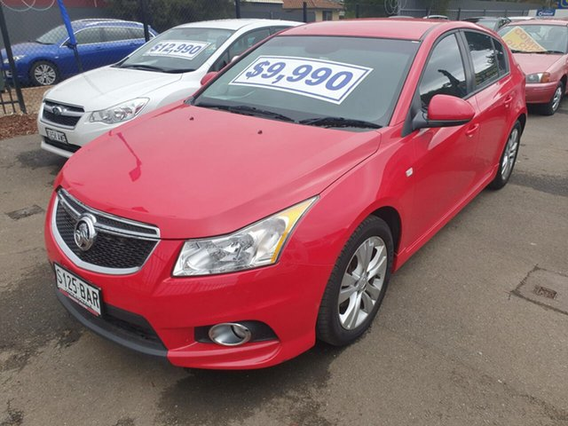 Used Holden Cruze JH Series II MY13 SRi-V, 2013 Holden Cruze JH Series II MY13 SRi-V Red 6 Speed Sports Automatic Hatchback