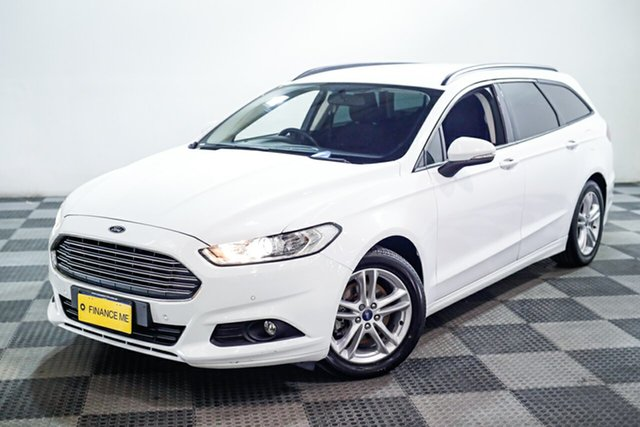 Used Ford Mondeo MD Ambiente, 2015 Ford Mondeo MD Ambiente White 6 Speed Sports Automatic Dual Clutch Wagon