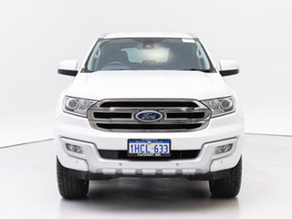 2016 Ford Everest UA Trend White 6 Speed Automatic SUV.