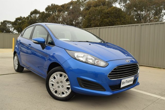 Used Ford Fiesta WZ Ambiente PwrShift Echuca, 2017 Ford Fiesta WZ Ambiente PwrShift Blue 6 Speed Auto Hatchback