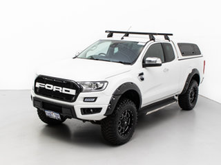 2016 Ford Ranger PX MkII XLT 3.2 (4x4) White 6 Speed Automatic Super Cab Utility