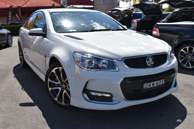 Used Holden Commodore VF II MY16 SS V Tuggerah, 2016 Holden Commodore VF II MY16 SS V White 6 Speed Manual Sedan