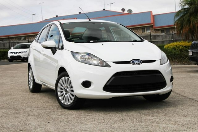 Used Ford Fiesta WT LX, 2010 Ford Fiesta WT LX White 5 Speed Manual Sedan