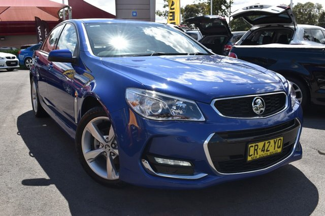 Used Holden Commodore VF II MY16 SV6, 2016 Holden Commodore VF II MY16 SV6 Blue 6 Speed Sports Automatic Sedan