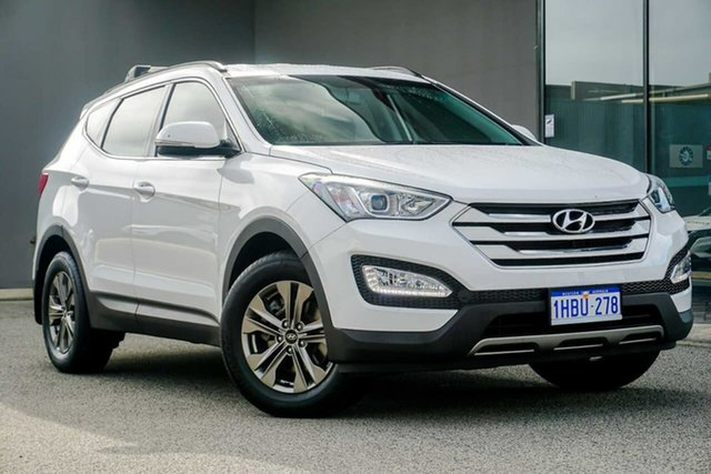 Used Hyundai Santa Fe DM2 MY15 Active, 2014 Hyundai Santa Fe DM2 MY15 Active White 6 Speed Sports Automatic Wagon