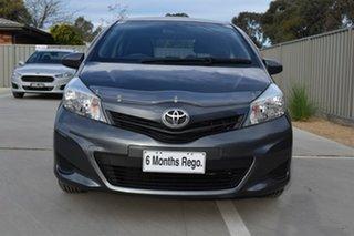 2012 Toyota Yaris NCP130R YR Grey 4 Speed Automatic Hatchback.