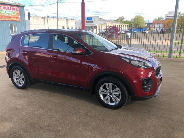 Used Kia Sportage QL MY16 SI (AWD) Toowoomba, 2016 Kia Sportage QL MY16 SI (AWD) Red 6 Speed Automatic Wagon