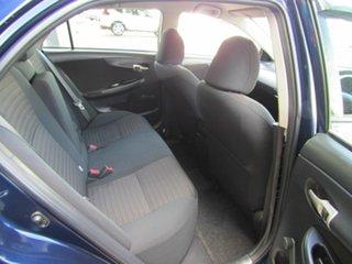 2010 Toyota Corolla ZRE152R Ascent Blue 4 Speed Automatic Sedan