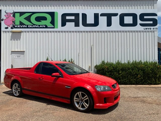 Used Holden Ute VE MY09.5 SV6, 2009 Holden Ute VE MY09.5 SV6 Red 5 Speed Sports Automatic Utility