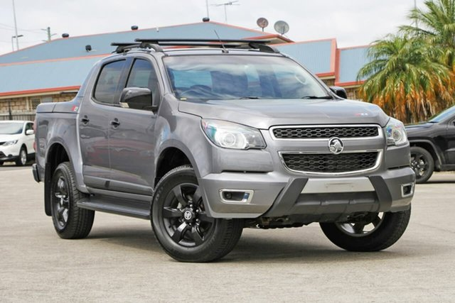 Used Holden Colorado RG MY16 Z71 Crew Cab, 2016 Holden Colorado RG MY16 Z71 Crew Cab Grey 6 Speed Sports Automatic Utility
