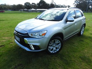2019 Mitsubishi ASX ES Silver Continuous Variable Wagon