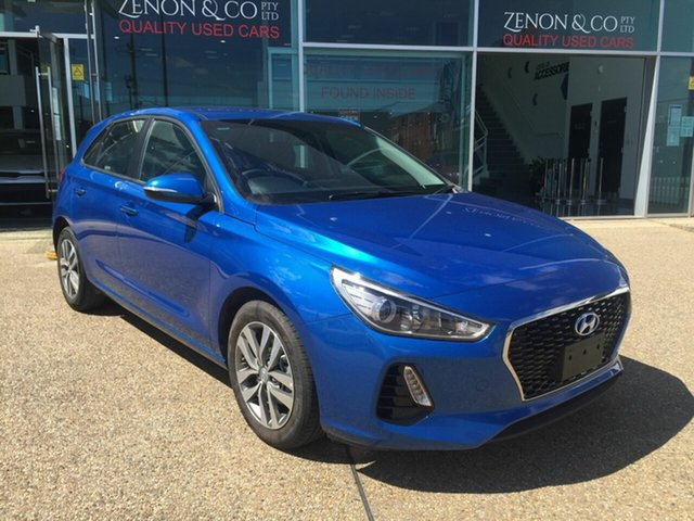 Used Hyundai i30 PD2 MY20 Active Fyshwick, 2019 Hyundai i30 PD2 MY20 Active Blue 6 Speed Sports Automatic Hatchback