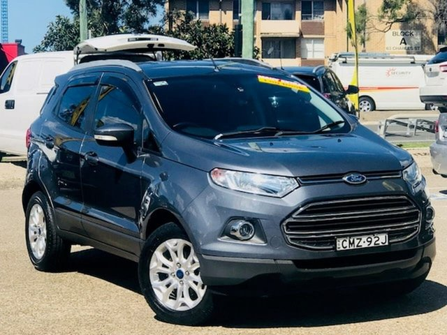 Used Ford Ecosport BK Titanium PwrShift, 2015 Ford Ecosport BK Titanium PwrShift Grey 6 Speed Sports Automatic Dual Clutch Wagon