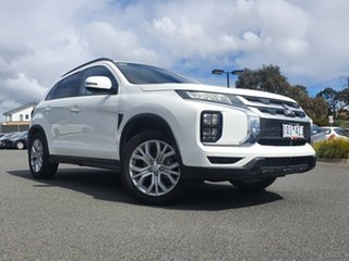 2019 Mitsubishi ASX XD MY20 LS 2WD White Solid 1 Speed Constant Variable Wagon.