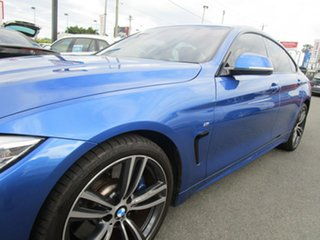 2015 BMW 4 Series F36 428i Gran Coupe M Sport Blue 8 Speed Sports Automatic Hatchback