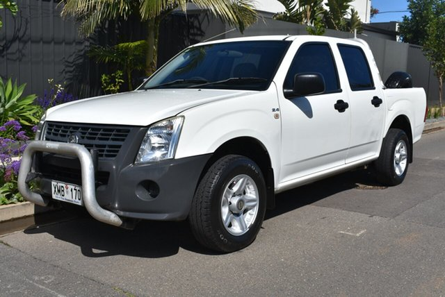 Used Holden Rodeo RA MY07 DX Crew Cab 4x2, 2007 Holden Rodeo RA MY07 DX Crew Cab 4x2 White 5 Speed Manual Utility