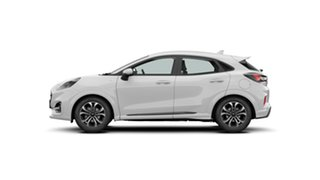 2020 Ford Puma JK 2020.75MY ST-Line Frozen White 7 Speed Sports Automatic Dual Clutch Wagon.